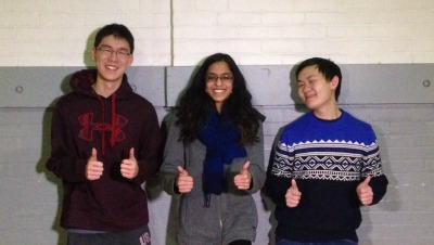 Two Thumbs Up - Eric Zhou, Aisha Chandraker, Jimmy Thai